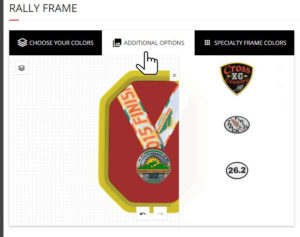 Apply patches or plaques to your display