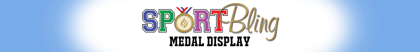 Oval Medal Display Frame | Sport Bling Medal Display