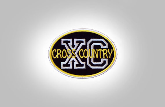 Cross Country Patch - Black Yellow