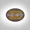 Cross Country Patch - Brown Gold