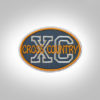 Cross Country Patch - Grey Burnt Orange