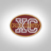 Cross Country Patch - Maroon DarkMustard