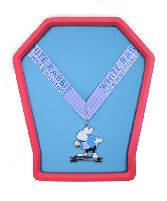 Pink Versa Medal Display Frame