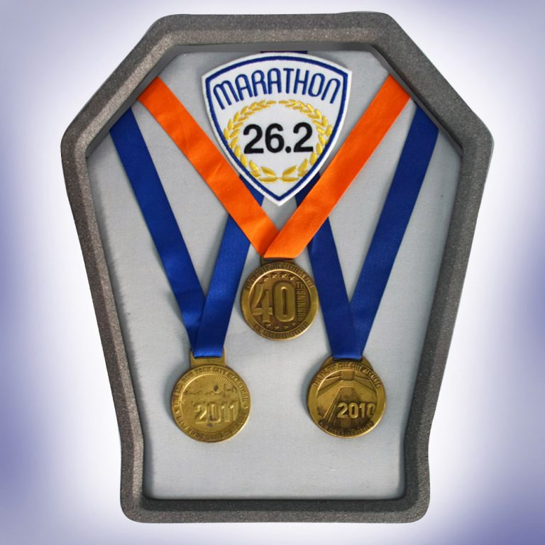 New York Marathon Medal Display Frame